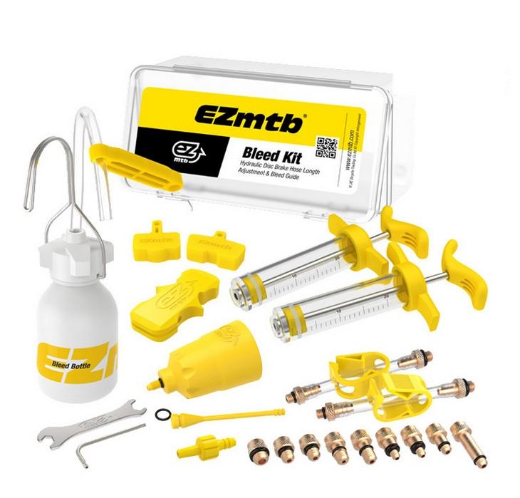 Набір EZmtb Bleeding Kit Pro для прокачування гідравлічних гальм