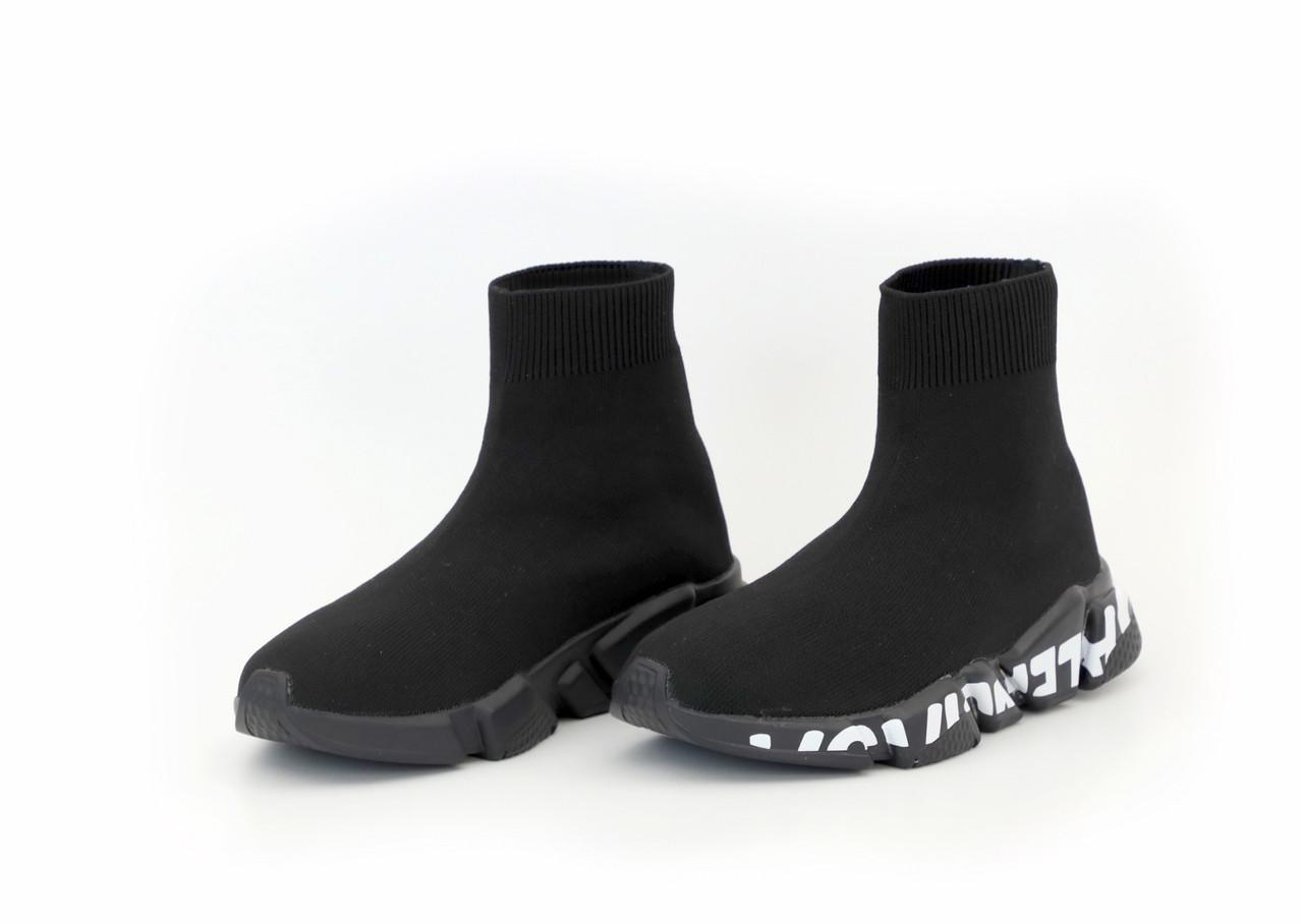 Мужские черные Кроссовки Balenciaga Speed Trainers