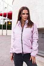Женская стильная куртка осень/весна с 42 по 48 рр плащёвка + силикон 150ой плотности