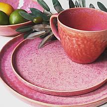 """Набор чашек """"Розовый рассвет"""" 400 мл 6 шт JM1537P, фото 3"""