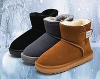 Дитячі та жіночі уггі / Угги детские зимние сапоги, для женщин и девочек, зимняя обувь, кожаные угги