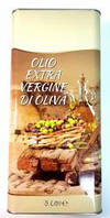 Оливкова Олія Olio Extra Vergine Di Oliva, 5 л, Оливковое масло Olio Extra Vergine di Oliva 5 л (олия екстра )