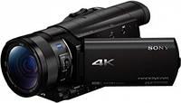 Цифр. видеокамера 4K Flash Sony Handycam FDR-AX100 Black, FDRAX100EB.CEE