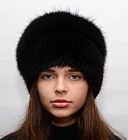 """Женская шапка из меха """"Улитка"""""""