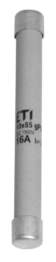 Запобіжник CH 10x85 gPV 2A 1500V (30kA)