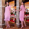Платье с цветочным узором большого размера, размеры 56, 58, 60, 62, фото 3
