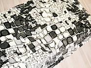 Мікрофібра ELWAY євро Камені сірі, фото 2