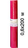 Простыни одноразовые на кушетку рулон Красный (200м х 0,6м, Timpa)