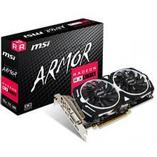 Видеокарта MSI Radeon RX 570 8192Mb ARMOR OC (RX 570 ARMOR 8G OC)