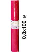 Простыни одноразовые на кушетку рулон Красный (100м х 0,8м, Timpa)