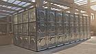 Модульная емк. для хранения жид. KVANT ALFA оцинк.ст.1,5мм (1260л) ШГВ(1080х1080х1080), фото 2