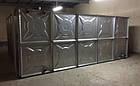 Модульная емк. для хранения жид. KVANT ALFA оцинк.ст.1,5мм (1260л) ШГВ(1080х1080х1080), фото 4