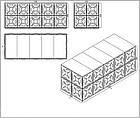 Модульная емк. для хранения жид. KVANT ALFA оцинк.ст.1,5мм (1260л) ШГВ(1080х1080х1080), фото 7