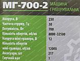 Гравер Белорус МГ-700-2 (217 насадок, 2 в 1), фото 6