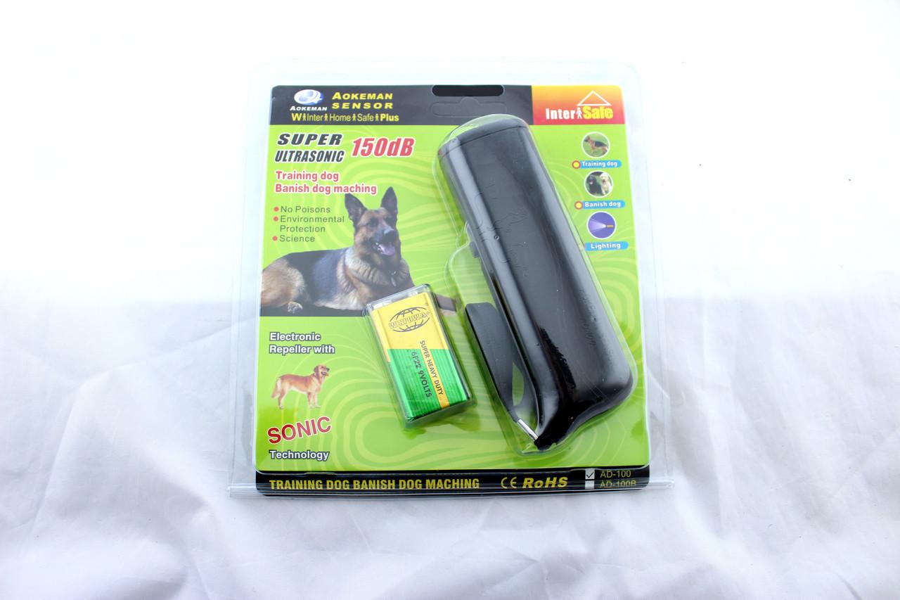 Отпугиватель от собак DRIVE DOG AD 100, Ультразвуковой отпугиватель от собак, Карманный отпугиватель собак