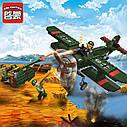 """Конструктор Brick 1705 """"Combat Zone"""" Німецький літак  187 деталей, фото 3"""