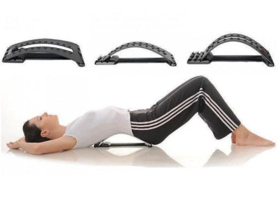 Массажер magic back support, Тренажер Мостик для спины и позвоночника, Тренажер для растяжки спины