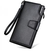 Кошелек Baellerry S1063 , Коричневый кошелек мужской, Портмоне мужское, Мужской клатч-портмоне, фото 1