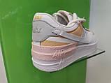 Жіночі кросівки в стилі найк Air Force 1 Low White Shadow Beige, фото 4