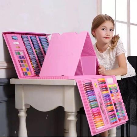 Набор для детского творчества в чемодане 208 предметов