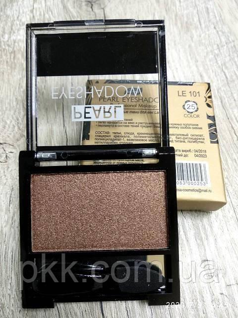 Тени для век LA ROSA MATTE Eyeshadow Professional Makeup одинарные LE-101 №25 перламутровые Красно-золотистые