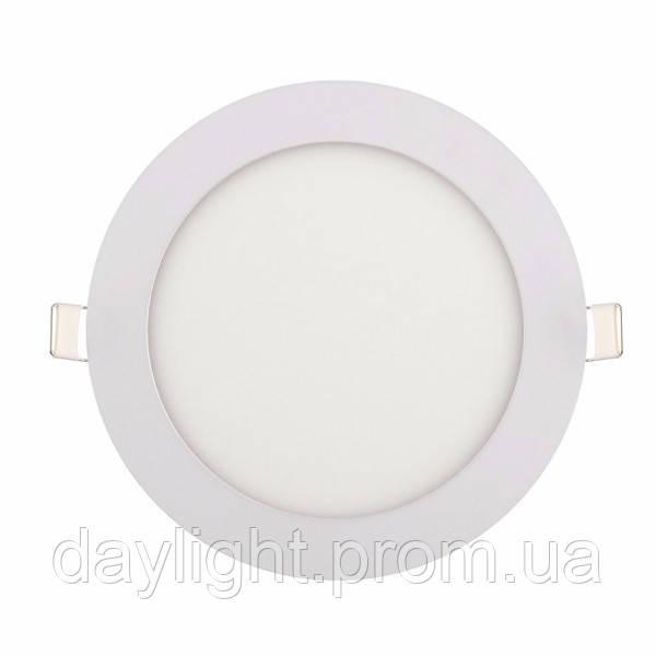Светодиодный светильник врезной Slim-12 12W 6400K