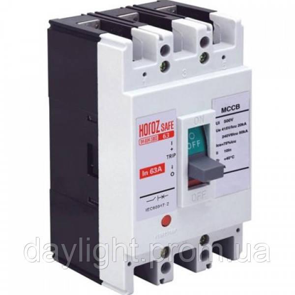 Шкафной автоматический выключатель SAFE 63А 3P С