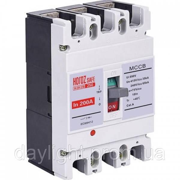 Шкафной автоматический выключатель SAFE 200А 3P С