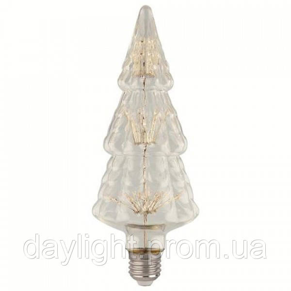 Светодиодная лампа PINE 2W янтарная