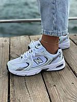 Белые кроссовки New Balance 530 White (Белые кроссовки Нью Баланс 530 женские и мужские размеры)