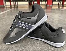 Кроссовки мужские демисезонные черного цвета 44.45 размер, фото 3