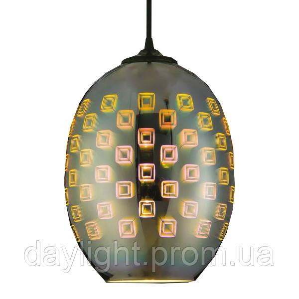 Светильник подвесной SPECTRUM Е27 3D-эффект овальный