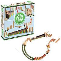 Дерев'яний Конструктор zig & go - 27 деталей (DJ05641), фото 2