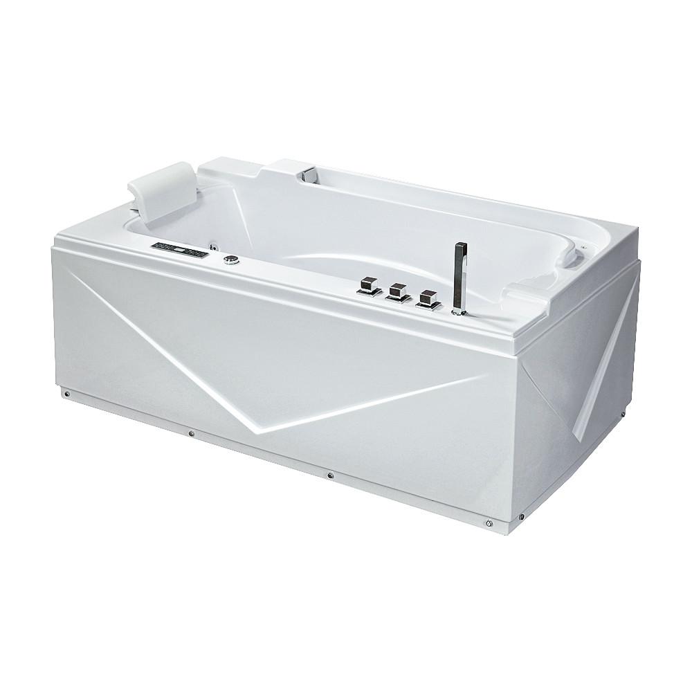 TLP-679 new, Iris, ванна з гідро-, аеромасажем, 170 х 90 х 67 см