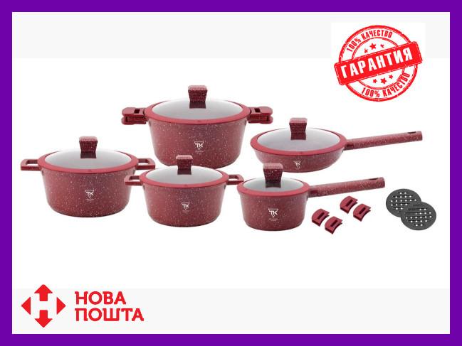 Набор кастрюль Top Kitchen TK00019 Красный