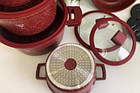 Набор кастрюль Top Kitchen TK00019 Красный, фото 2