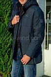 Зимняя мужская куртка Kings Wind W09, фото 4