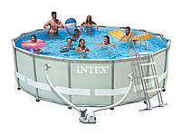 Intex 26322, каркасный бассейн 488 x 122 см Ultra Frame Pool, фото 1