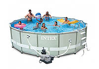 Intex 26332, каркасный бассейн 549 x 132 см Ultra Frame Pool