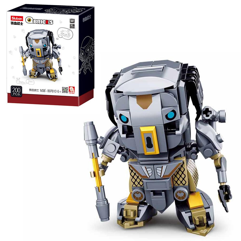 Конструктор SLUBAN M38-B0761D  робот 200дет