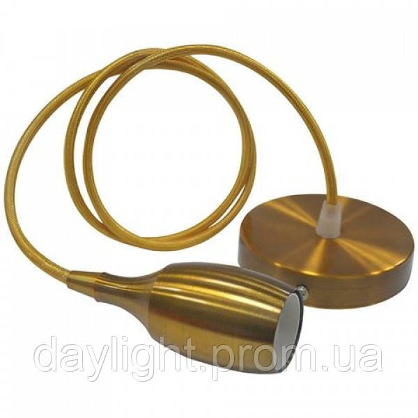 Светильник подвесной WEBER Е27 золото