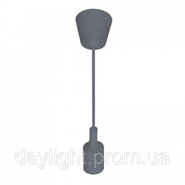 Светильник подвесной VOLTA Е27 серый