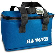 Термосумка для природы рыбалки пикника Ranger HB5-5Л объем 4,5 литров синий