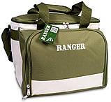 Набір посуду для пікніка природи риболовлі Ranger Lawn на 4 персони терсоотдел 20 літрів, фото 2
