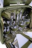 Набір посуду для пікніка природи риболовлі Ranger Lawn на 4 персони терсоотдел 20 літрів, фото 4