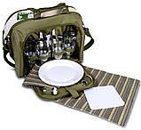 Набор посуды для пикника природы рыбалки Ranger Meadow 4 персоны термоотдел 11 литров, фото 3