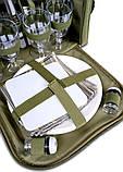 Набор посуды для пикника природы рыбалки Ranger Meadow 4 персоны термоотдел 11 литров, фото 5