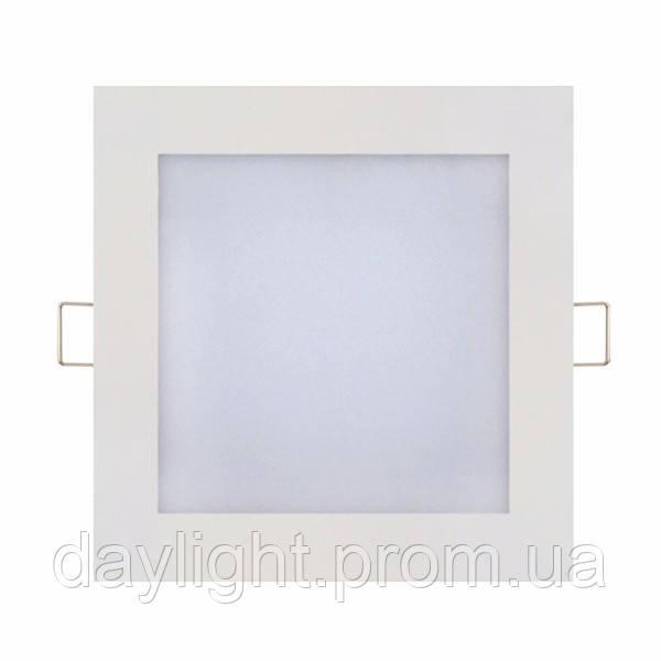 Светодиодный светильник врезной Slim/Sq-15 15W 4200К