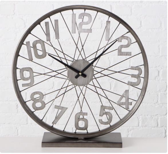 Настольные часы «Колесо Жизни» металл h52см