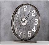 Настольные часы «Колесо Жизни» металл h52см, фото 3